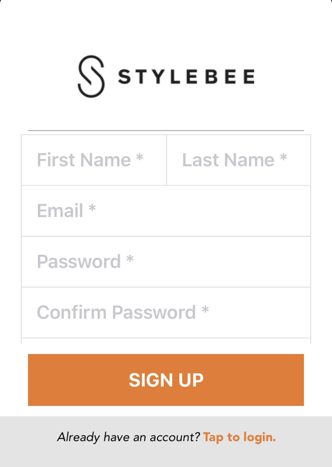 Signuppage