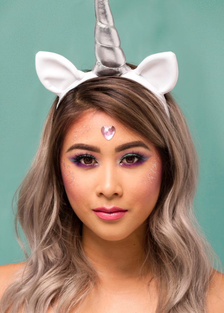 Magical unicorn portrait