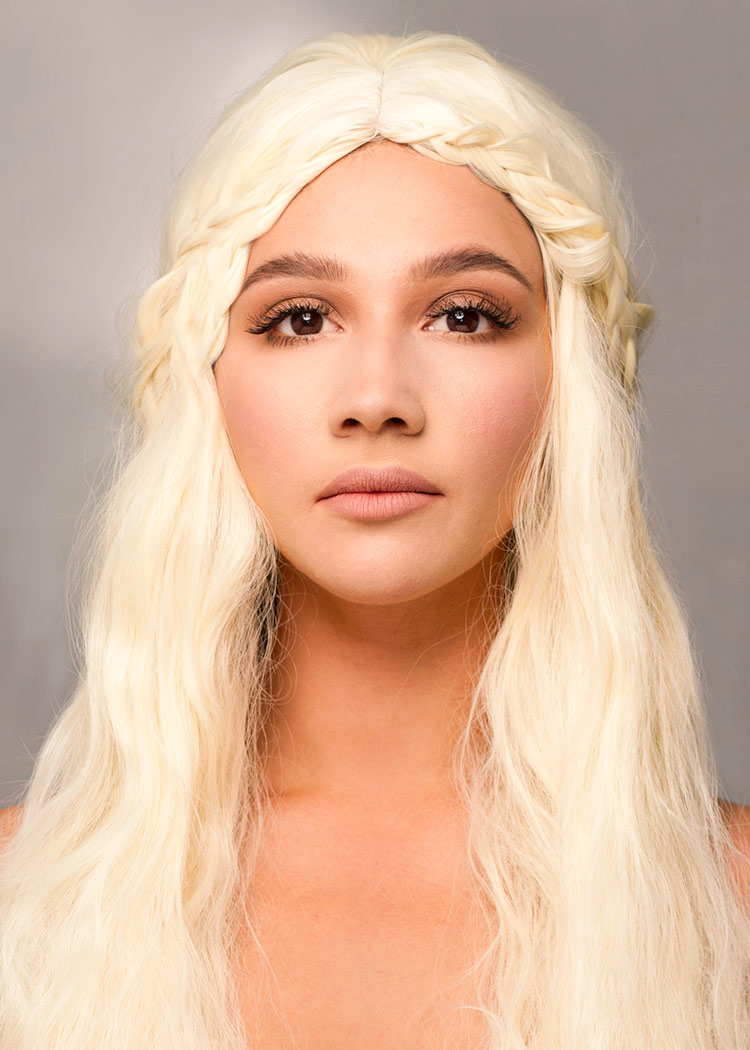 Mother of dragons portrait