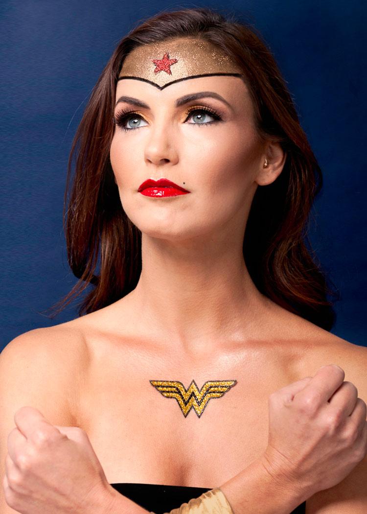 Wonder woman portrait