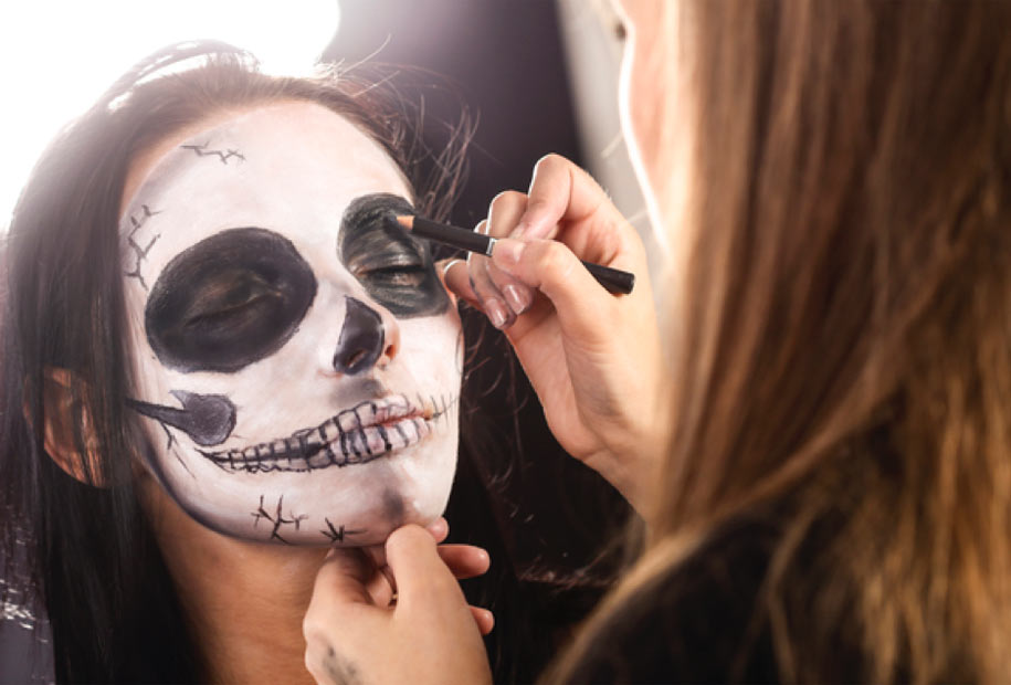 Halloween makeup